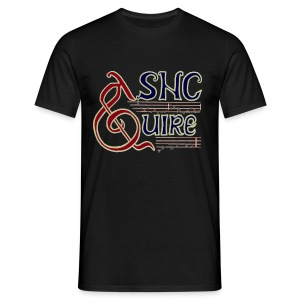 ASNC Quire Men's Black - Men's T-Shirt