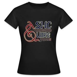 Quire womens black - Women's T-Shirt