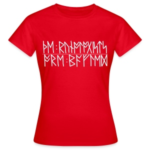 Baffled runologists women's red - Women's T-Shirt