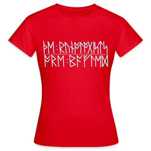 Baffled runologists women's red - Women's T-Shirt
