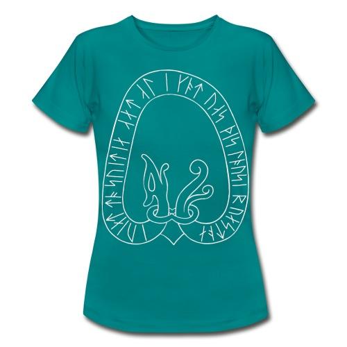 Sweden runestone women's blue - Women's T-Shirt