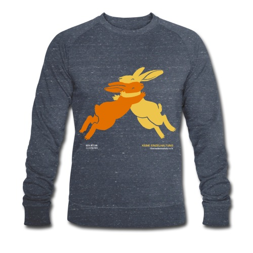 Freunde (Keine Einzelhaltung), dunkelgrau, Sweatshirt Männer - Männer Bio-Sweatshirt von Stanley & Stella