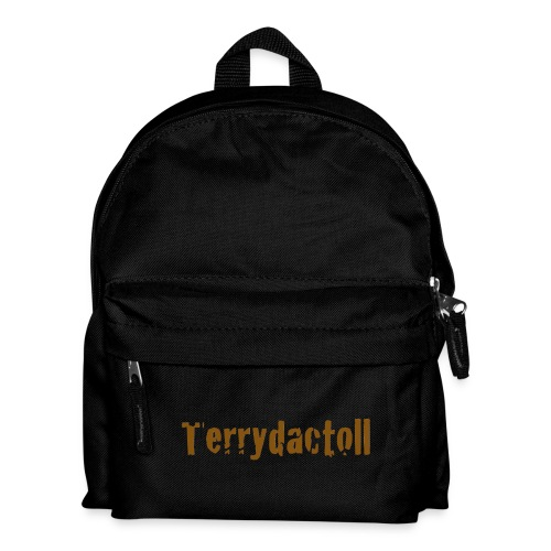Mini Terrydactoll Logo Bag (Black) - Kids' Backpack