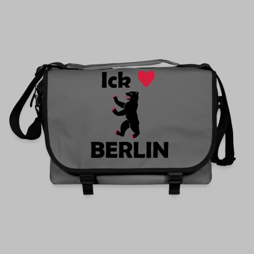 Ick liebe ❤ Berlin - Umhängetasche