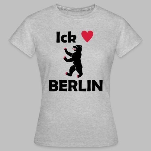 Ick liebe ❤ Berlin - Frauen T-Shirt