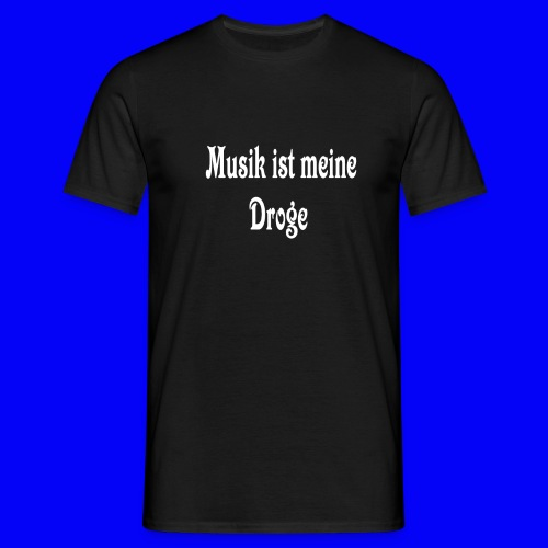 Musiksucht Tshirt - Men's T-Shirt