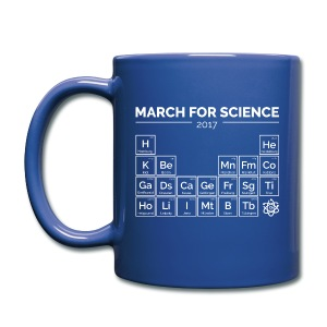 Periodensystem March for Science weiß - Tasse - Tasse einfarbig