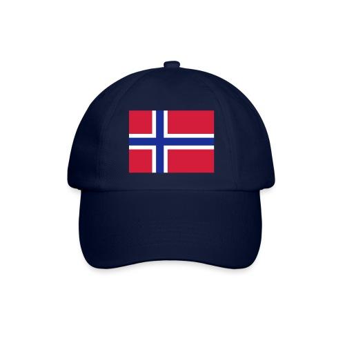 CAPS med Norskt flagg - Baseballcap
