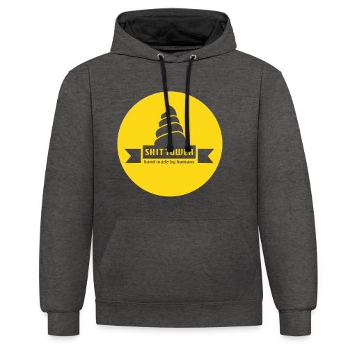 Shit Tower - Sweat-shirt contraste