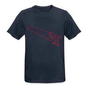 SÄGE Fuchsschwanz - Männer T-Shirt atmungsaktiv