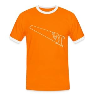 SÄGE Fuchsschwanz - Männer Kontrast-T-Shirt