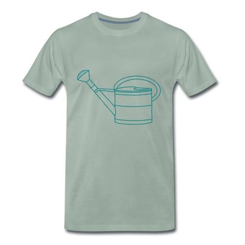 Gießkanne Garten - Männer Premium T-Shirt