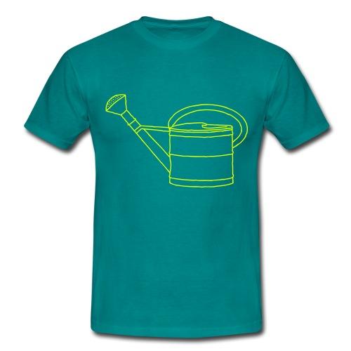 Gießkanne Garten - Männer T-Shirt
