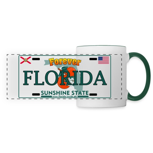Forever Florida Becher - Licence Plate Edition - Panoramatasse