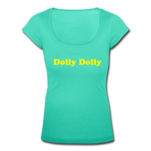 Dolly Dolly  wide neck - Women's Scoop Neck T-Shirt