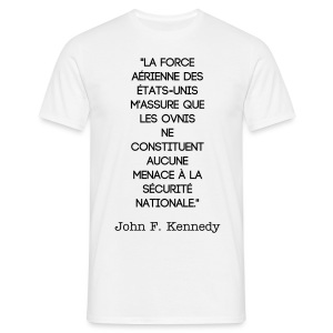 Tee shirt citation JFK - T-shirt Homme