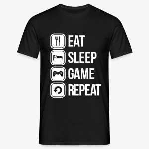 Eat Sleep Game Men's Tee - Men's T-Shirt
