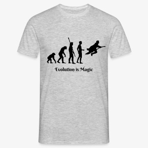 Evolution is Magic Men's Tee - Men's T-Shirt