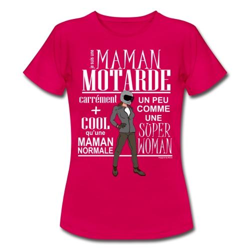 TS-Femme-MAMAN-MOTARDE - T-shirt Femme