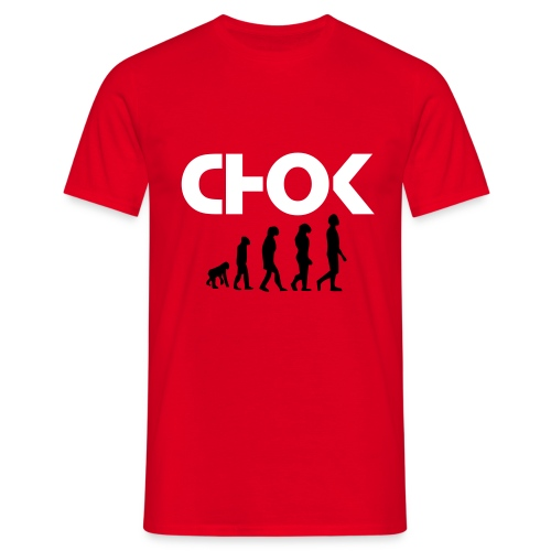 LE CHOK EVOLUTION RED - T-shirt Homme