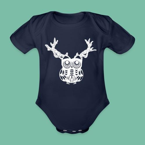 Body bio BB Hibois animaux magiques Brocéliande Spirit - Body bébé bio manches courtes