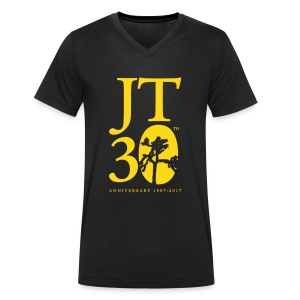 JT: Anniversary shirt (v-neck) - Men's V-Neck T-Shirt