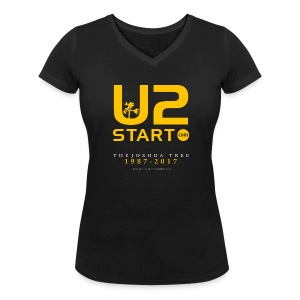 JT: U2start.com (v-neck) - Women's Organic V-Neck T-Shirt by Stanley & Stella