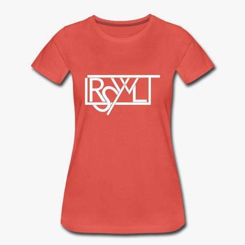 T-Shirt im LRSWLT Design - Frauen Premium T-Shirt