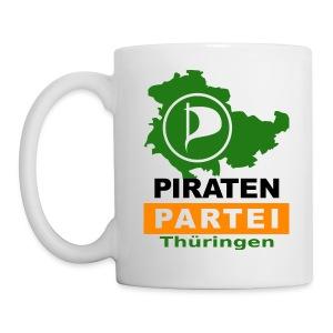Piraten-Rum-Tasse (Logo groß) - Tasse