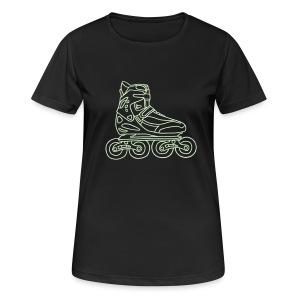 Inlineskates  - Frauen T-Shirt atmungsaktiv