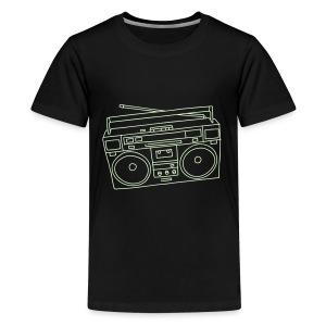 Ghettoblaster - Teenager Premium T-Shirt
