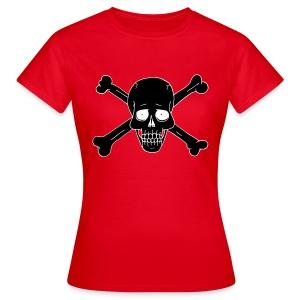 Totenkopf 2 - Frauen T-Shirt