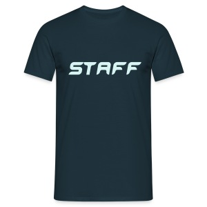 Mens ' Staff ' Tee v3 Navy / Power Reflex Reflex Flex Print - Men's T-Shirt