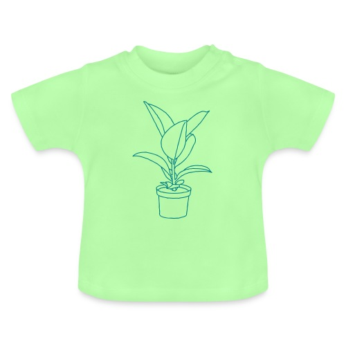 GUMMIBAUM Zimmerpflanze - Baby T-Shirt