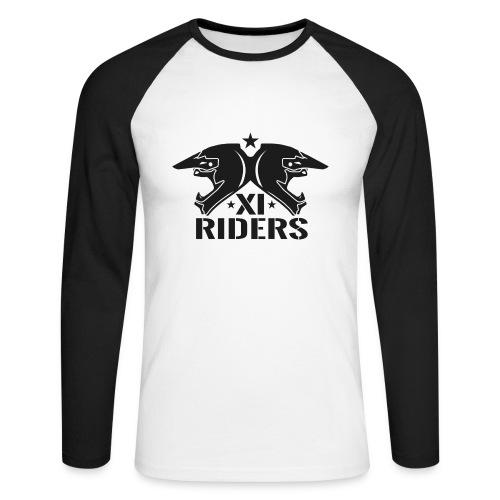 XIRiders Sweatshirt 2 Farbig - Männer Baseballshirt langarm