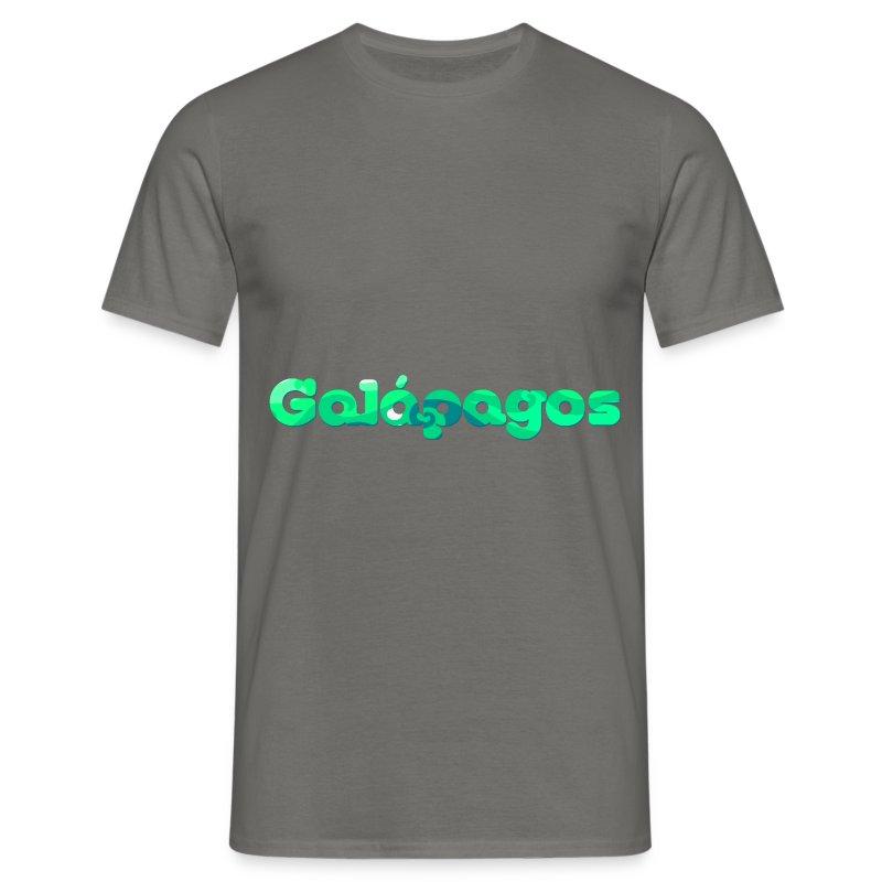 logo galapagos - Camiseta hombre