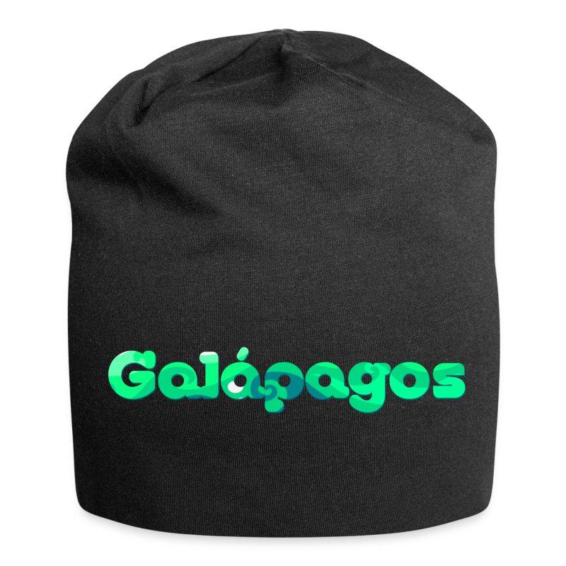 logo galapagos - Gorro holgado de tela de jersey