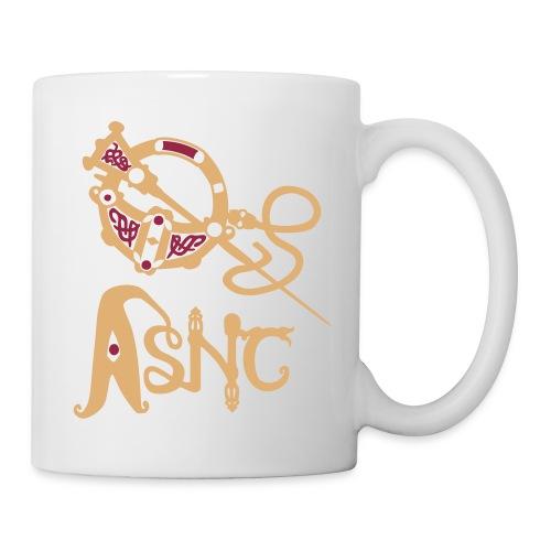 Brooch logo mug white - Mug