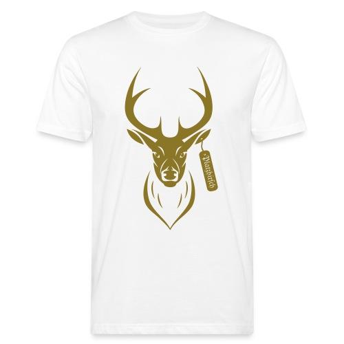 Platz Hirsch - Männer Bio-T-Shirt