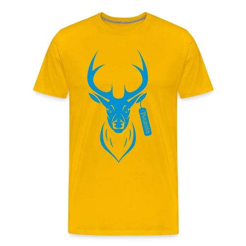 Platz Hirsch - Männer Premium T-Shirt
