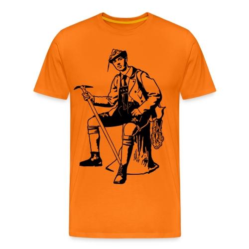 Bergsteiger - Männer Premium T-Shirt