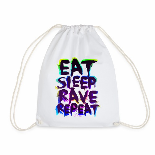 Eat Sleep Rave Repeat - Turnbeutel - Turnbeutel