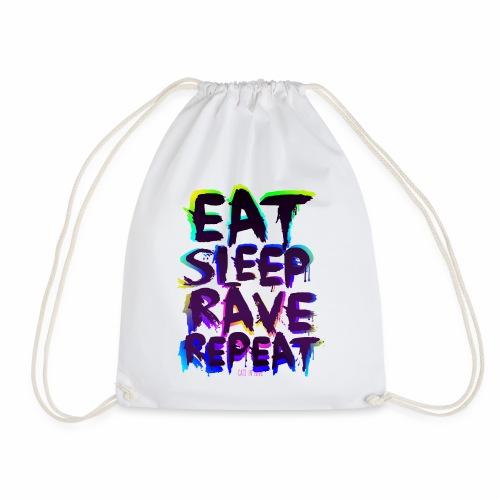 Eat Sleep Rave Repeat - Turnbeutel - Turnbeutel