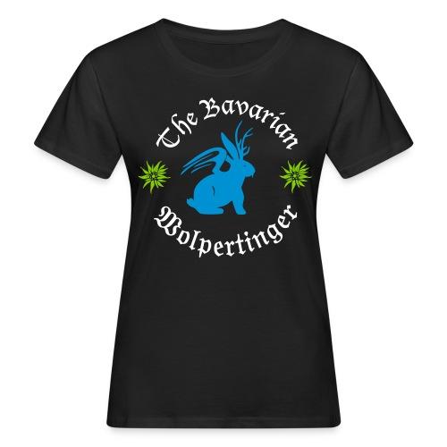 The Bavarian Wolpertinger - Frauen Bio-T-Shirt