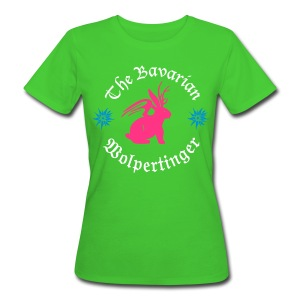 The Bavarian Wolpertinger - Frauen Bio-T-Shirt