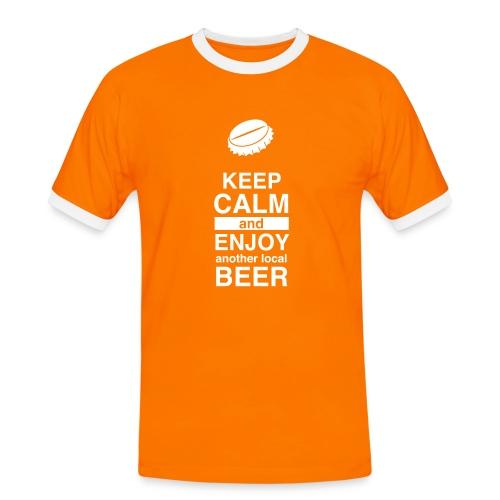I Like Local Beer (Kontrast-Shirt) - Männer Kontrast-T-Shirt
