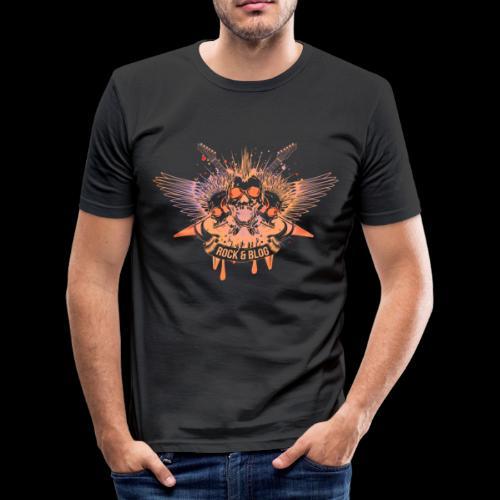 fit Rock and Blog - Camiseta ajustada hombre
