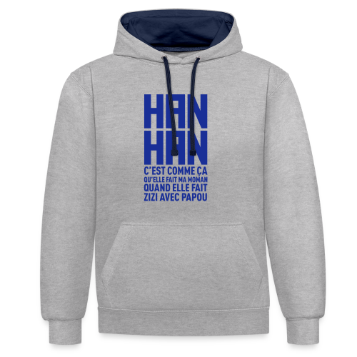 Han Han - Sweat-shirt contraste