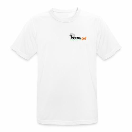 1 x logo t-shirt i teknisk kvalitet (herre) - Pustende T-skjorte for menn