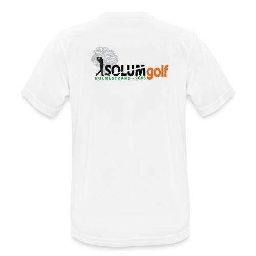 2 x logo t-shirt i teknisk kvalitet (herre) - Pustende T-skjorte for menn